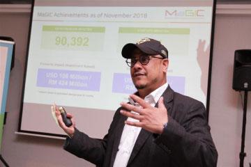 Ashran leaving MaGic to join Dattel as CEO