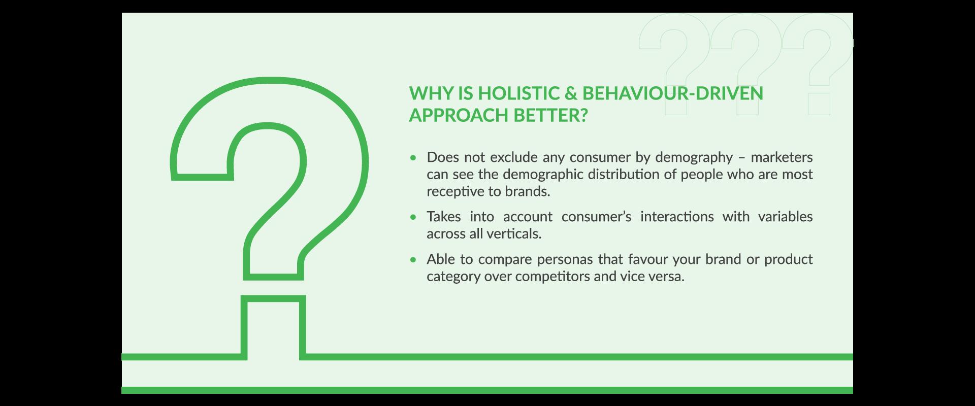 Universal Consumer Persona Advantages
