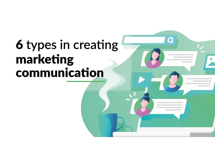 6 types in creating marketing communication