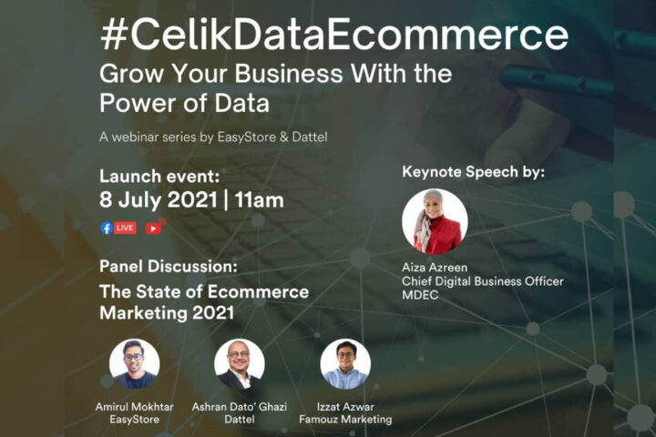 Dattel & EasyStore signs MOU & launches #CelikDataEcommerce